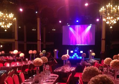 Conception soirée de gala, salle Wagram