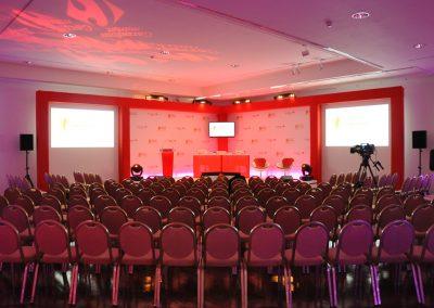 Scénographie convention, Biarritz
